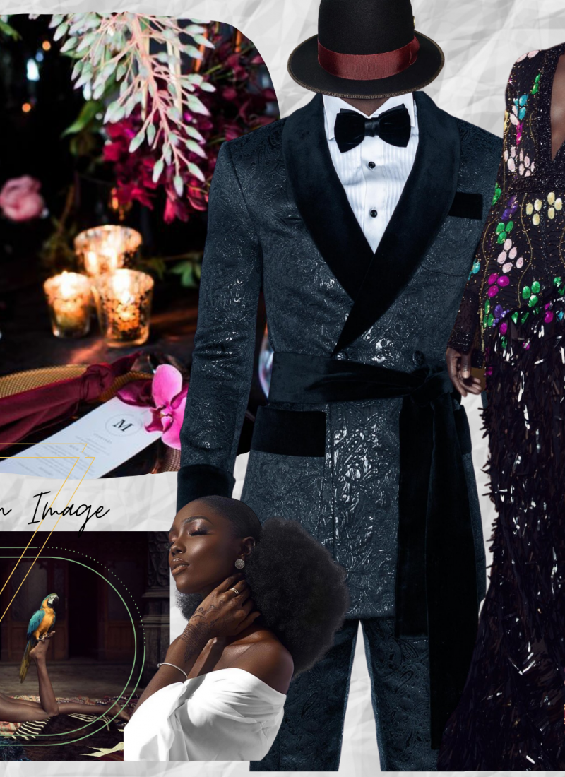 Planning A Jewel of A Black-Tie Wedding