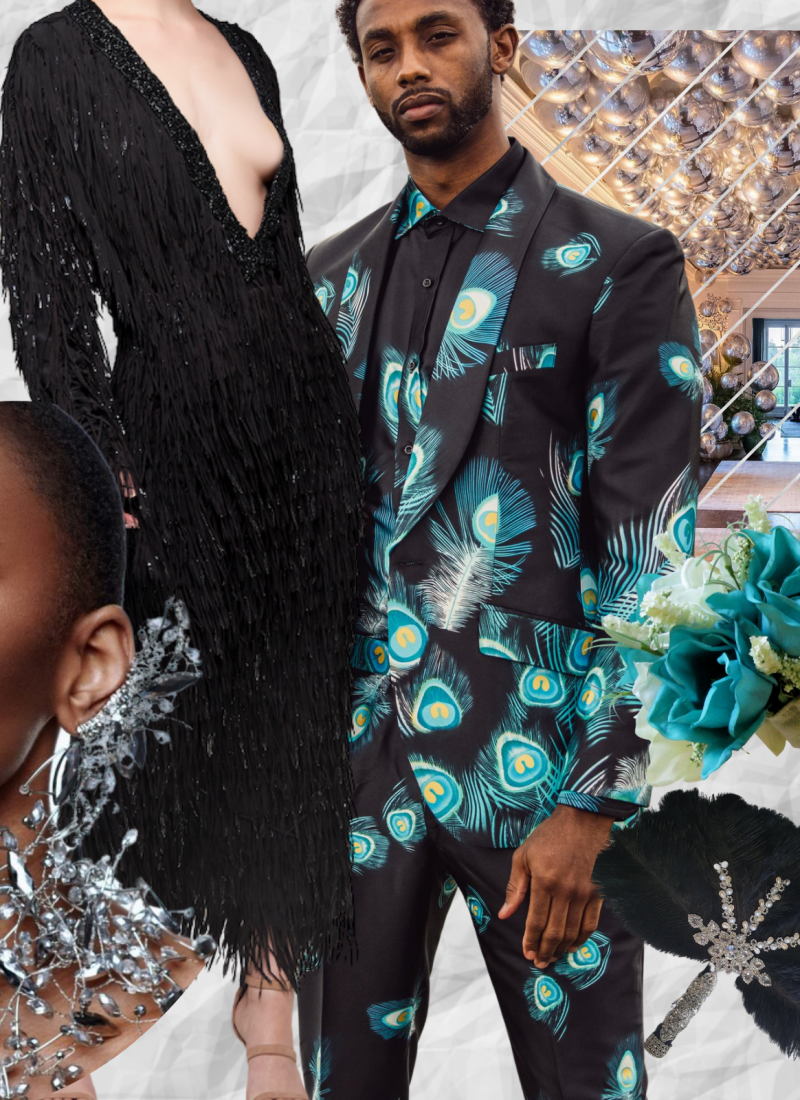 Yes, Black is Beautiful For Weddings, Too