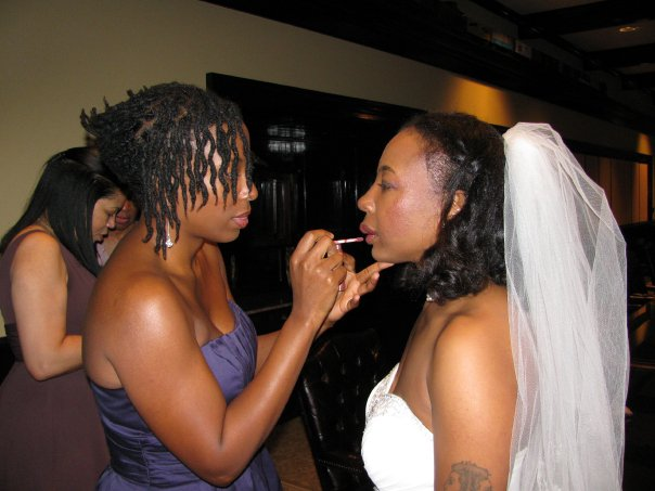 An anti-bride in the making